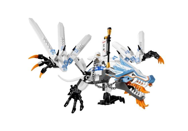Lego Ninjago Dragon Ice Dragon | Ninjago W...