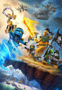 Ninjago Season 6 Promotional Poster