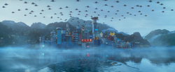 Movie Ninjago City