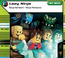 Card 120 - Lazy Ninja