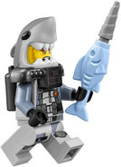 Shark Army Soldier Fig