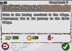 Escort The Merchant