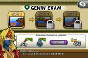 Genin Exam (iOS)