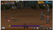 Escaped bandit Criminal battle