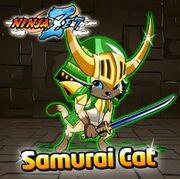 Samurai Cat Event