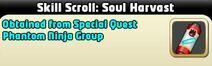 Soul Harvast Skill Scroll..