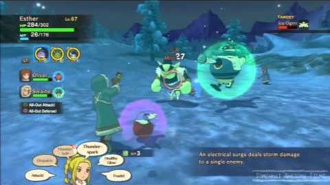 Ni No Kuni Icy Giant Bounty Hunt 107