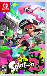 Splatoon 2 Cover