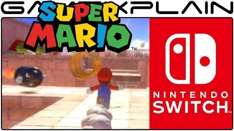 Super Mario Switch REVEAL Gameplay - Enhanced & Slow-Motion!