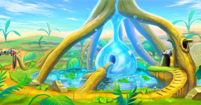 Image - Ever Oasis - Background artwork 02.jpg | Nintendo ...