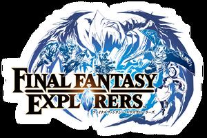 Final Fantasy Explorers logo