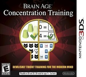 Brain Age Concentration Training box art