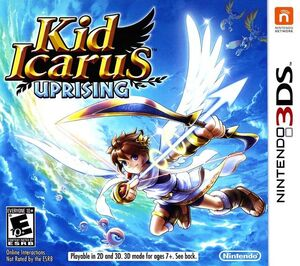 Kid Icarus Uprising box art