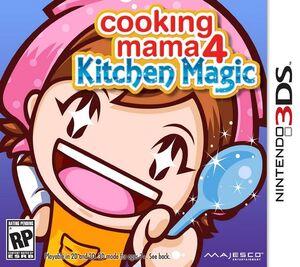 Cooking Mama 4 box art