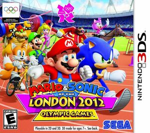 Mario and Sonic at the London 2012 Olympic Games box art