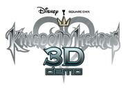 Kingdom Hearts 3D Demo logo