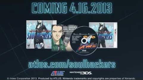 Shin Megami Tensei Devil Summoner Soul Hackers - Gameplay Trailer