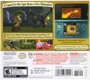 The Legend of Zelda Ocarina of Time 3D back cover