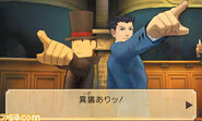 Professor Layton vs Ace Attorney screenshot 9