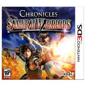 Samurai Warriors Chronicles cover