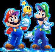Mario, Luigi, Starlow - Mario & Luigi Dream Team