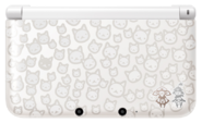 Nintendo 3DS XL Monster Hunter 4 Felyne White