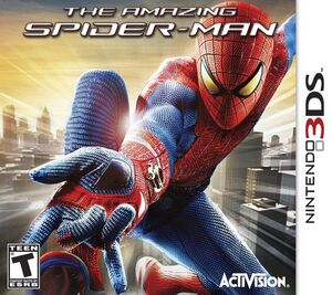 The Amazing Spider-Man box art