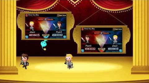 """Theatrhythm Final Fantasy Curtain Call - """"Legacy of Music Final Fantasy VIII - X"""" trailer"""