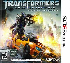 Transformers Dark of the Moon box art