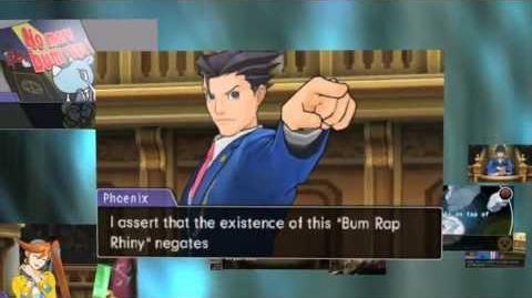 Ace Attorney Dual Destinies - English Announcement Trailer