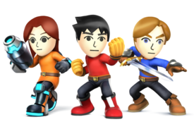 Super Smash Bros. - Mii Fighters