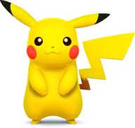 Pikachu - Super Smash Bros.