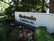 Nintendo of America entrance