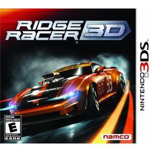 Ridge Racer 3D cover