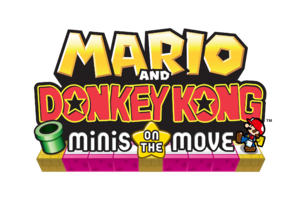 Mario and Donkey Kong logo
