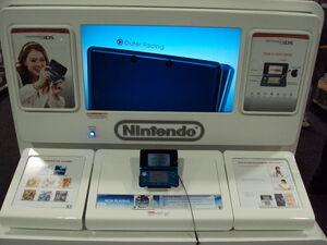Nintendo 3DS retail demo unit