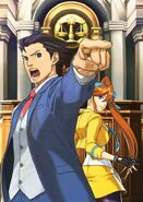 Ace Attorney 5 promotional art