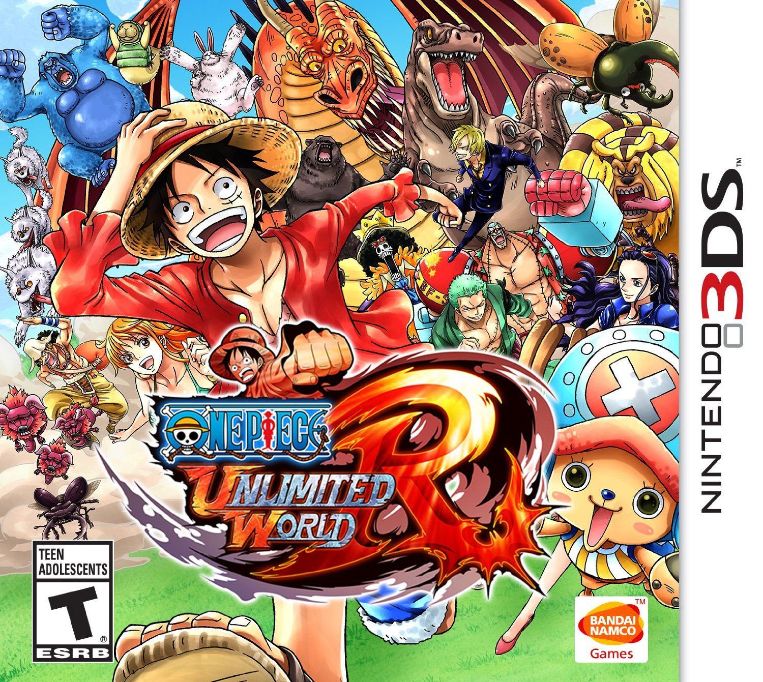 One Piece Nds: One Piece: Unlimited World RED