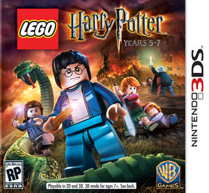 LEGO Harry Potter Years 5-7 box art