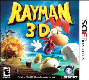 Rayman 3D cover