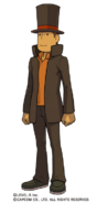 Professor Layton (Professor Layton VS Ace Attorney)