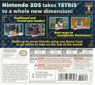 Tetris Axis back cover
