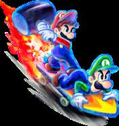 Bros Attack 2 - Mario & Luigi Dream Team