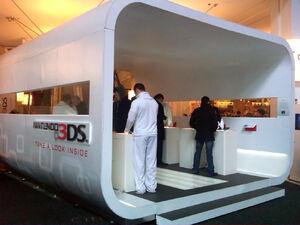 Nintendo 3DS demo pod kiosk