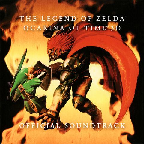 File:The Legend of Zelda Ocarina of Time 3D soundtrack cover.jpg