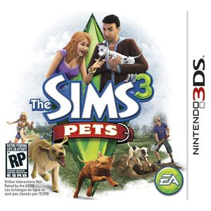 The Sims 3 Pets box art