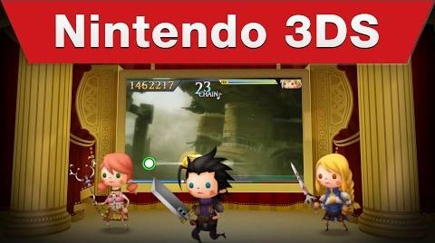 Theatrhythm Final Fantasy Curtain Call - Launch Trailer