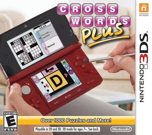 Crosswords Plus box art