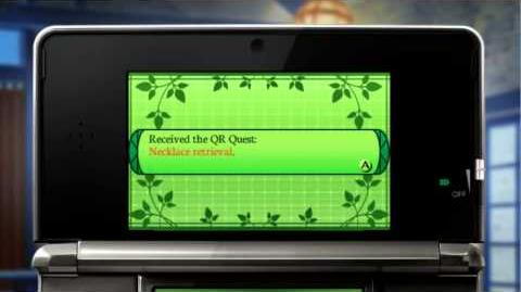 Etrian Odyssey IV Legends of the Titan - Using QR Codes trailer