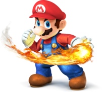 Mario - Super Smash Bros.